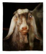 Smiling Egyptian Goat I Fleece Blanket
