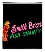 Smith Bros. Fish Shanty Fleece Blanket