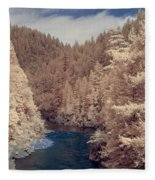 Smith River Forest Canyon Fleece Blanket