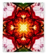 Smoke Art 104 Fleece Blanket