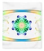 Smoke Art 128 Fleece Blanket