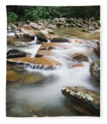Smokey Mountain Creek Fleece Blanket