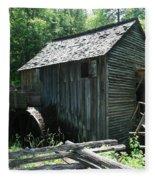 Smoky Mountain Grist Mill Fleece Blanket