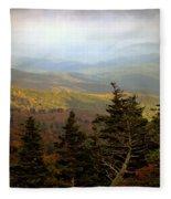 Smokey Mountain High Fleece Blanket