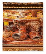 Smokin Pipes Fleece Blanket