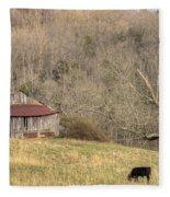 Smoky Mountain Barn 10 Fleece Blanket