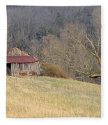 Smoky Mountain Barn 9 Fleece Blanket