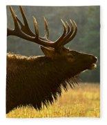 Smoky Mountain Bugle Fleece Blanket