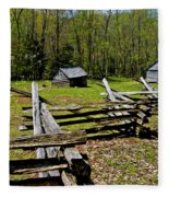 Smoky Mountain Cabins Fleece Blanket