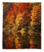 Smoky Mountain Colors - 235 Fleece Blanket