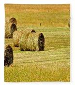 Smoky Mountain Hay Fleece Blanket