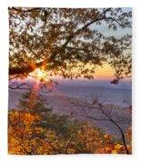 Smoky Mountain High Fleece Blanket