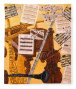 Smooth Jazz Fleece Blanket