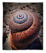 Snail Beauty Fleece Blanket