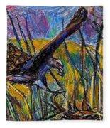 Snail Kite Fleece Blanket