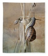 Snails Fleece Blanket