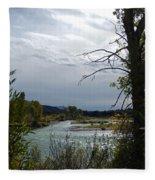 Snake River Fleece Blanket