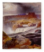 Snake River Idaho 1876 Fleece Blanket