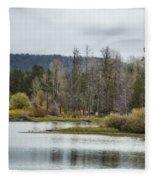 Snake River Near Cattleman's Bridge Site -  Grand Tetons Fleece Blanket