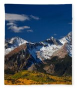 Sneffels Clearing  Fleece Blanket