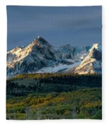 Sneffels Range Fleece Blanket