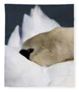 Snoozer - Swan Fleece Blanket