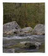 Snoqualmie River Fleece Blanket