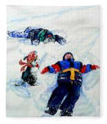 Snow Angels Fleece Blanket