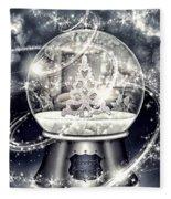 Snow Ball Fleece Blanket