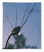 Snow Bird Fleece Blanket