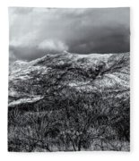 Snow Capped 45 Fleece Blanket