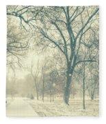 Snow Day Fleece Blanket