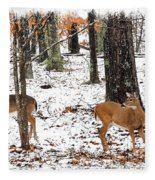 Snow Doe's 1 Fleece Blanket