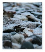 Snow Dusted Fleece Blanket