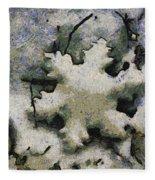 Snow Flake 04 Photo Art Fleece Blanket