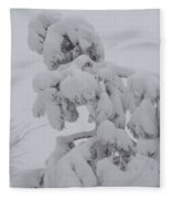 Snow Goon Fleece Blanket