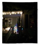 Snow Lights Fleece Blanket