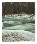 Snow Rock Fleece Blanket