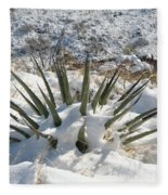 Snow Spines Fleece Blanket