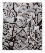 Snow Tree Fleece Blanket