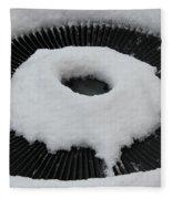 Snow Vent Abstract Fleece Blanket