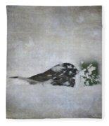 Snowbird Fleece Blanket
