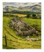 Snowdon Ruin Fleece Blanket