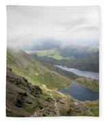 Snowdonia Wales Fleece Blanket