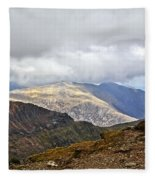 Snowdonian Splendor Fleece Blanket