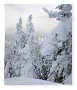 Snowed In  Fleece Blanket