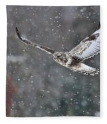 Snowing Flight Fleece Blanket
