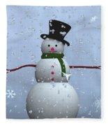 Snowman... Fleece Blanket