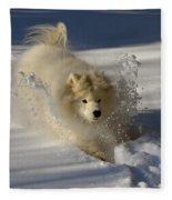 Snowplow Fleece Blanket
