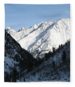 Snowwhite Mountain Top Fleece Blanket